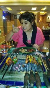 Me at Barbeque Nation