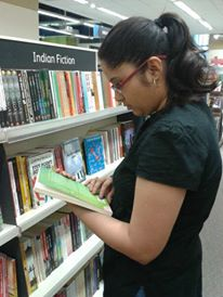 Me in a Book Store